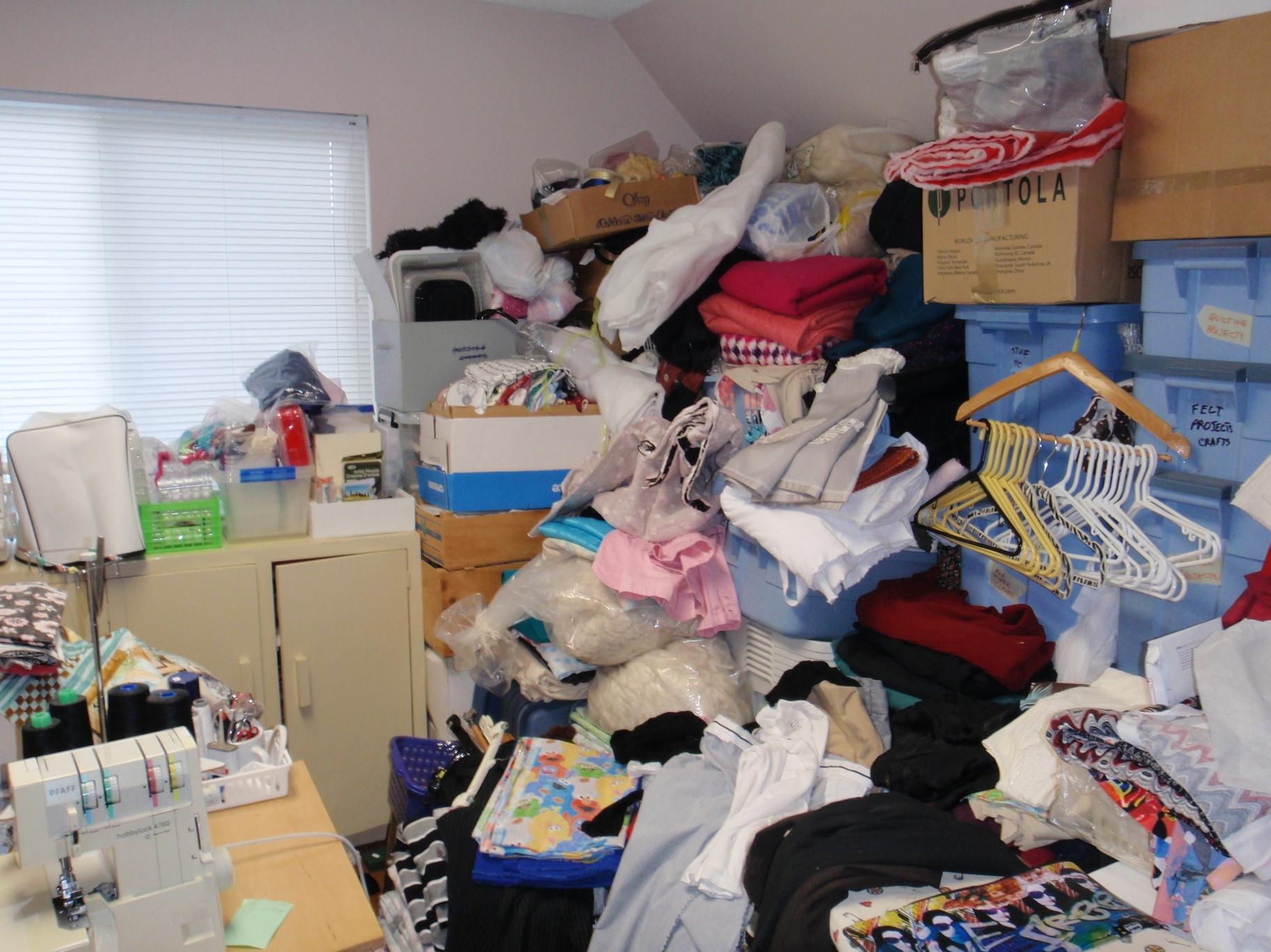 100 Bags: Organizing Fabric