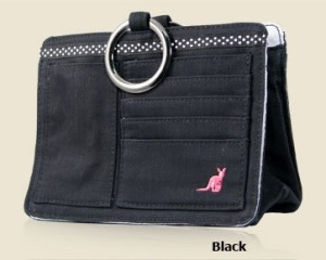 Black Pouch, Purse - GIT